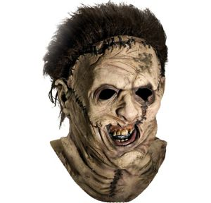 Vinyl Leatherface Mask Deluxe