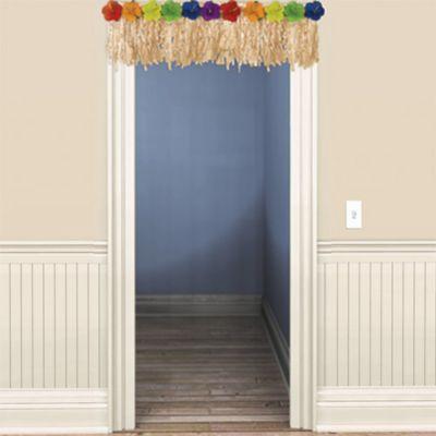 Hibiscus Door Fringe