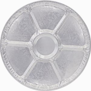Embossed Aluminum Sectional Platter