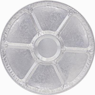 Embossed Aluminum Sectional Platter