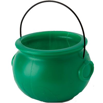 Pot of Gold Green Cauldron