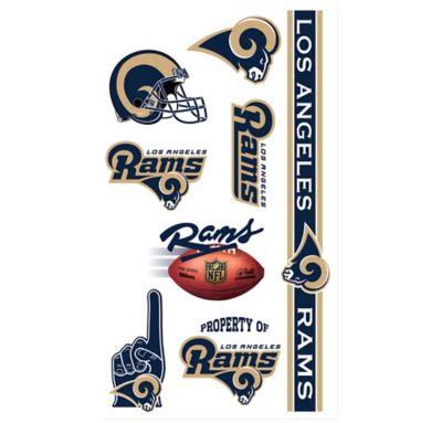 St. Louis Rams Tattoos 10ct