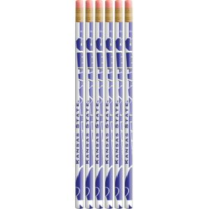 Kansas State Wildcats Pencils 6ct