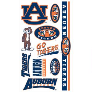 Auburn Tigers Tattoos 7ct