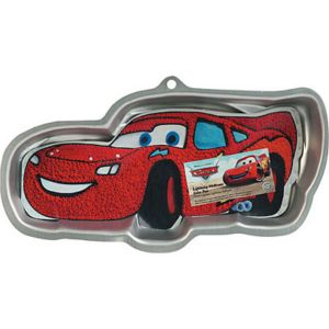 Lightning McQueen Cake Pan - Cars