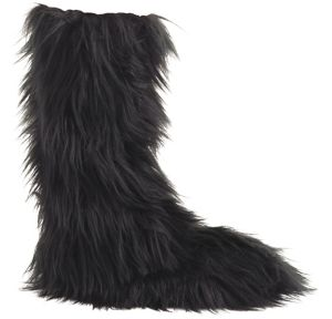 Child Furry Boot Covers
