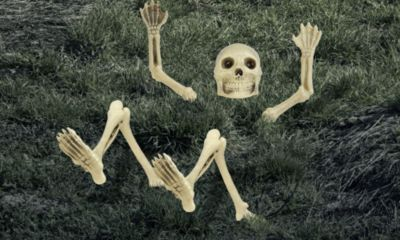 Light-Up Lawn Skeleton Decoration 12pc