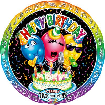 Happy Birthday Balloon - Singing