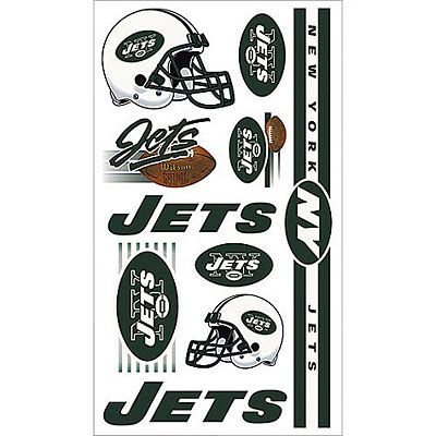 New York Jets Tattoos 10ct