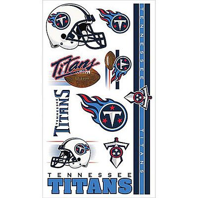 Tennessee Titans Tattoos 10ct