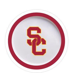 USC Trojans Dessert Plates 12ct