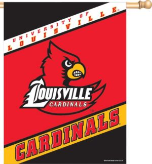 Louisville Cardinals Banner Flag