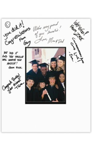 Graduation Autograph Photo Matte