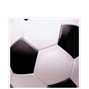 Soccer Fan Lunch Napkins 16ct
