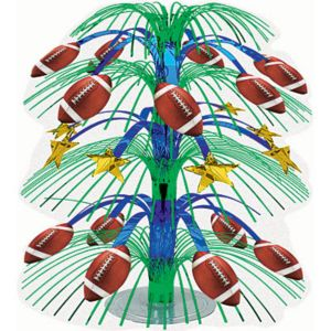 Football Cascade Centerpiece