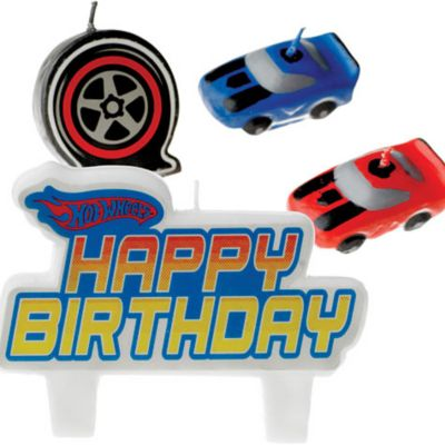 Hot Wheels High Action Candle