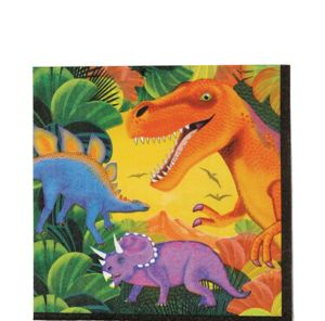 Prehistoric Dinosaurs Lunch Napkins 16ct