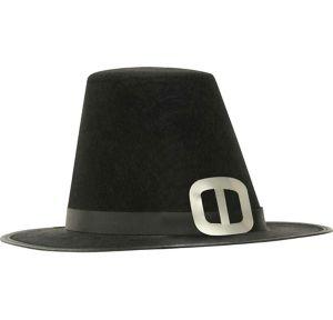 Silver Buckle Pilgrim Hat