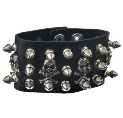 Skull Stud Bracelet