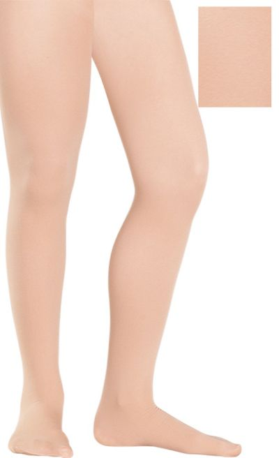 Adult Nude Seamless Tights Plus Size