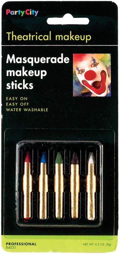 Hot Color Makeup Sticks 5ct