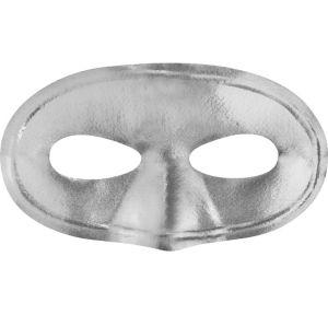 Silver Domino Mask