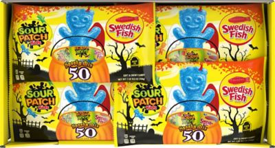 Swedish Fish & Sour Patch Kids Variety Pack 50ct