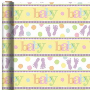 Baby Steps Gift Wrap