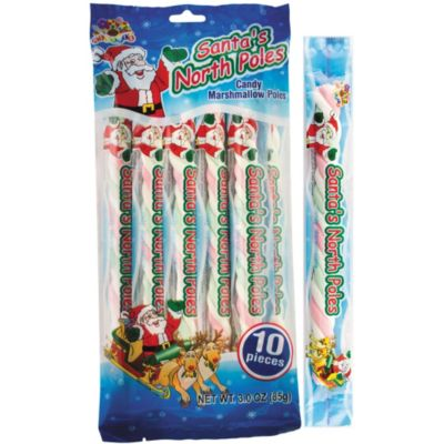 Santa's North Poles Marshmallow Pops 10ct