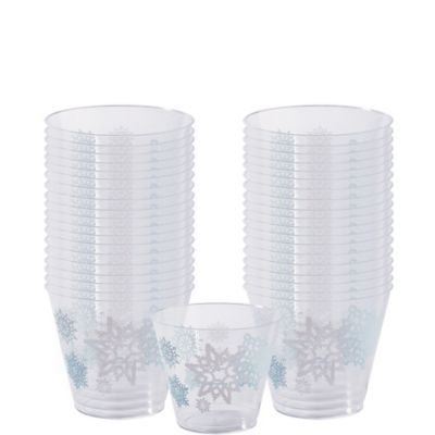 Snowflake Cups 40ct