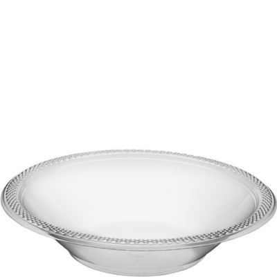CLEAR Plastic Bowls 20ct