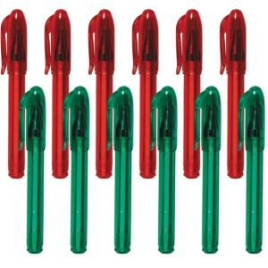 Christmas Mini Pens 12ct