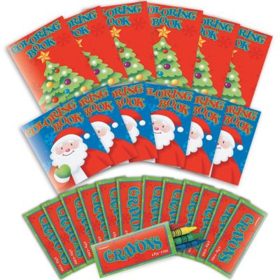 Christmas Coloring Activity Kit 12ct