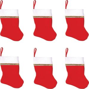 Christmas Stockings 6ct