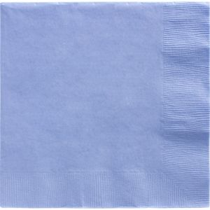 Pastel Blue Dinner Napkins 20ct