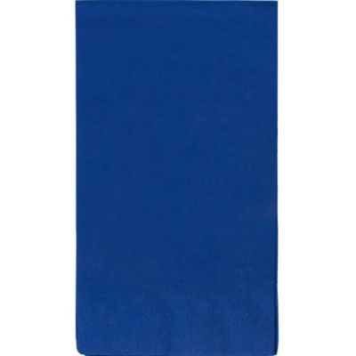 Royal Blue Guest Towels 16ct