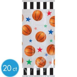 Large Basketball Favor Bags 20ct