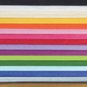 Assorted Colored Tissue Paper 20ct
