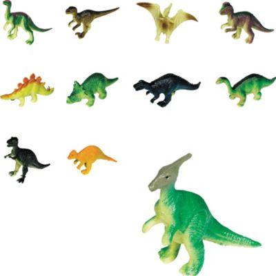 Toy Prehistoric Dinosaurs 48ct
