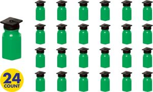 Green Grad Cap Bubbles 24ct