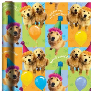 Party Pups Gift Wrap