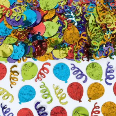 Metallic Balloon Party Confetti