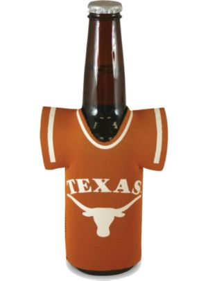 Texas Longhorns Jersey Bottle Coozie