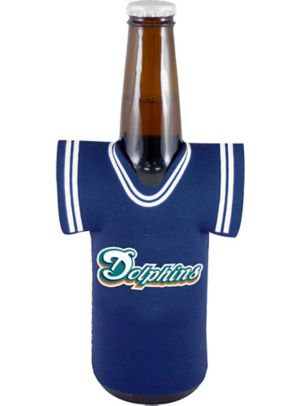 Miami Dolphins Jersey Bottle Coozie