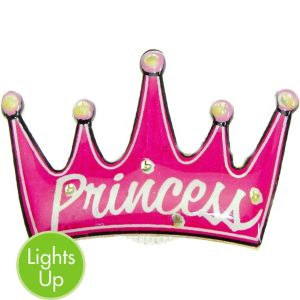 Light-Up Princess Pin