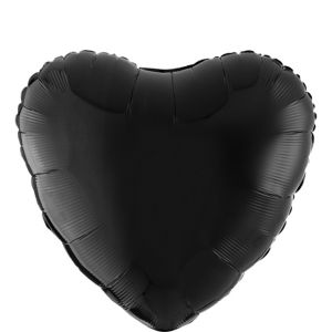 Black Heart Balloon