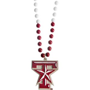 Texas A&M Aggies Pendant Bead Necklace