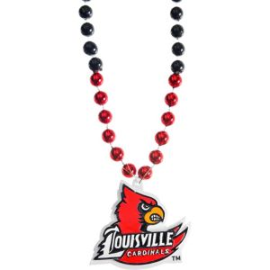 Louisville Cardinals Pendant Bead Necklace