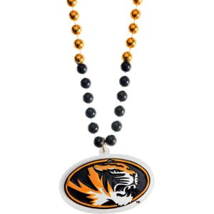Missouri Tigers Pendant Bead Necklace