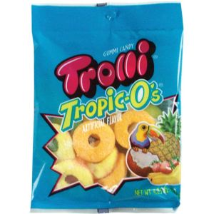 Trolli Tropic O's Gummy Candy 18pc